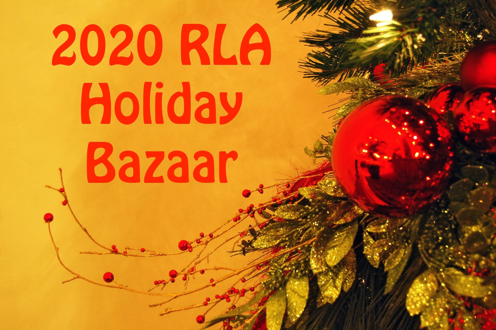 Holiday Bazaar 2020